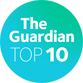 Ranked top 10 The Guardian